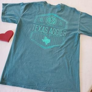 Comfort Colors Tops - Texas A&M AGGIES graphic tee by Comfort Colors